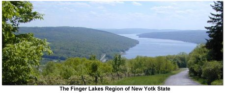 The Finger Lakes Region of New York